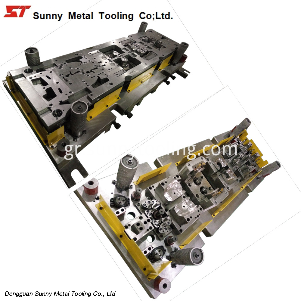 Automotive Stamping Part Punching Tooling Die Mould-CS007-sunnytool
